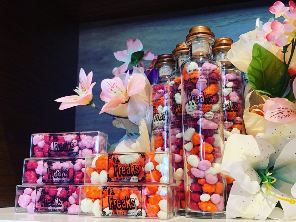 floral freaks in boxes and bottles